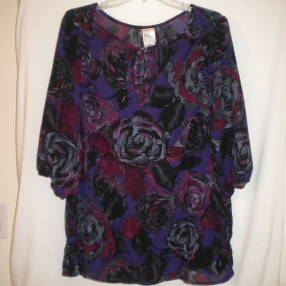 9dcea984f66 Just My Size Tops - Just My Size Women Plus 1X (16W) Blouse Top